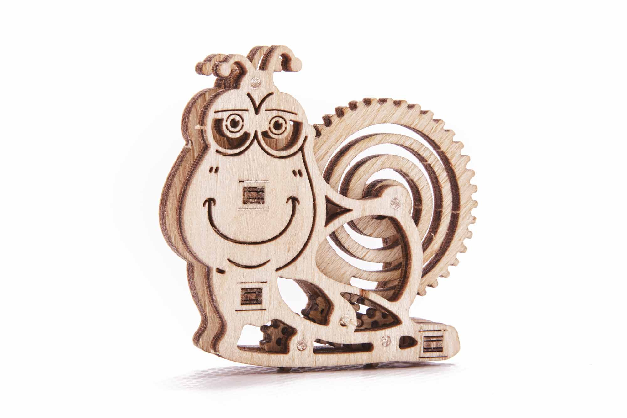 Wooden Woodik Snail - 3d wooden puzzles for kids, good ...